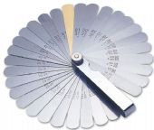 2481 Feeler Gauge Imperial/Metric - 32 Blades